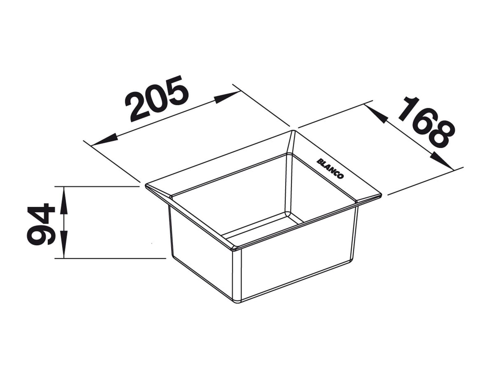 Blanco 229 342 Universalbox