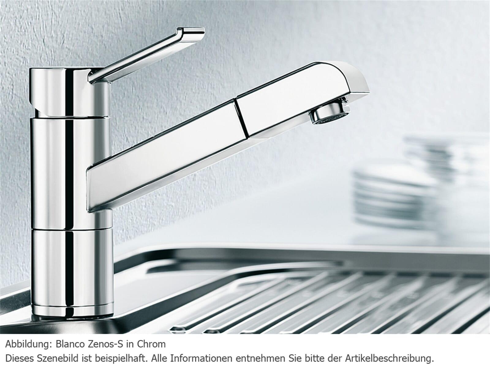 Blanco Zenos-S Chrom Hochdruckarmatur