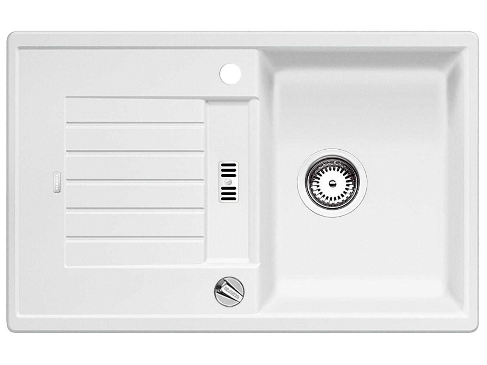 Blanco Zia 45 S Weiß - 514 718 Granitspüle