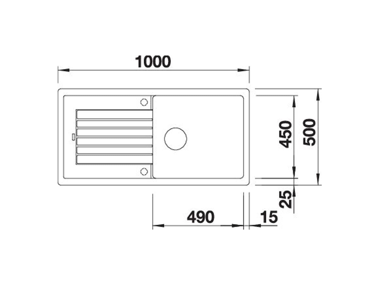 Blanco Zia XL 6 S Anthrazit - 517 558 Granitspüle