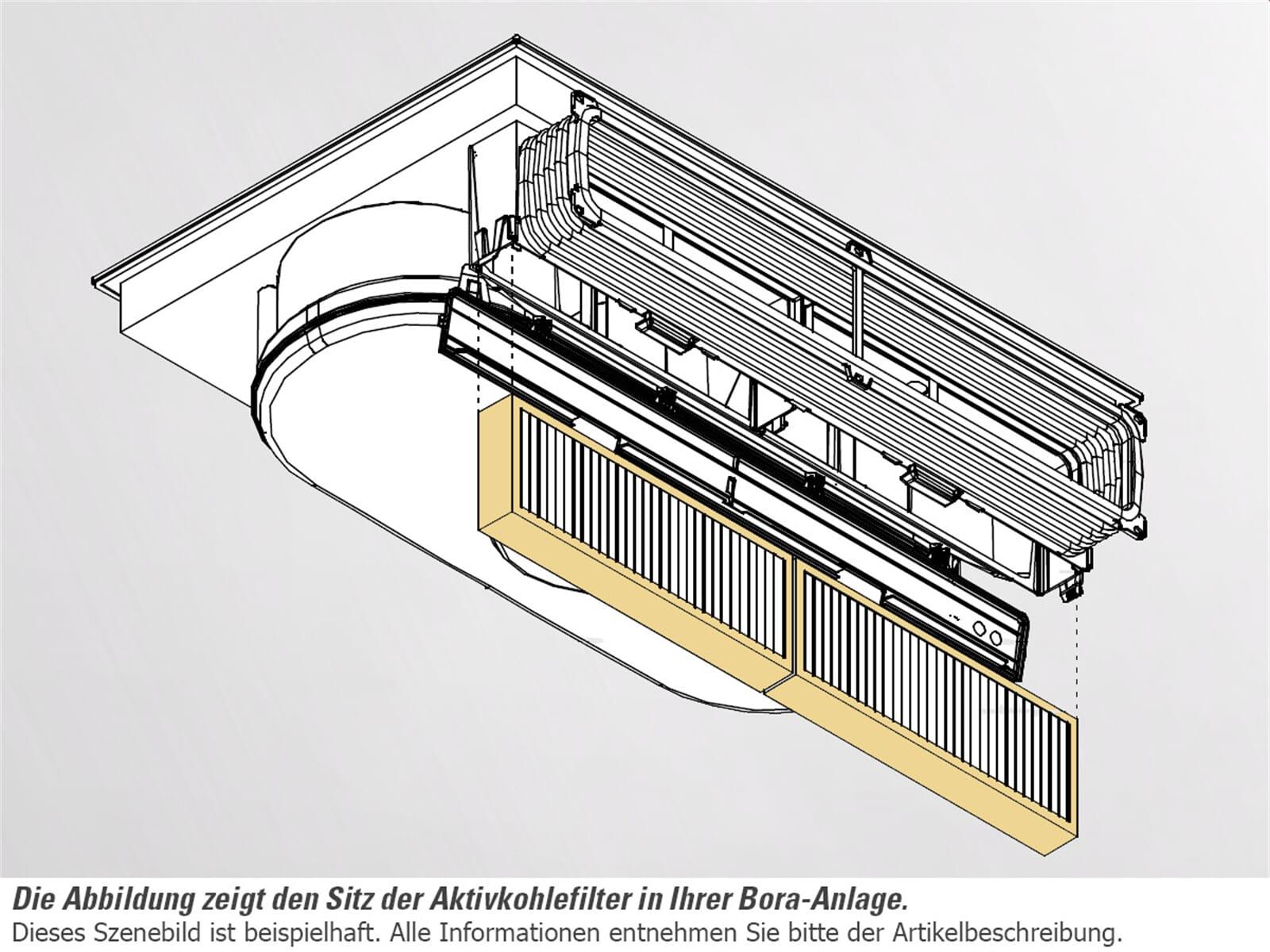 bora aktivkohlefilter set bakfs. Black Bedroom Furniture Sets. Home Design Ideas