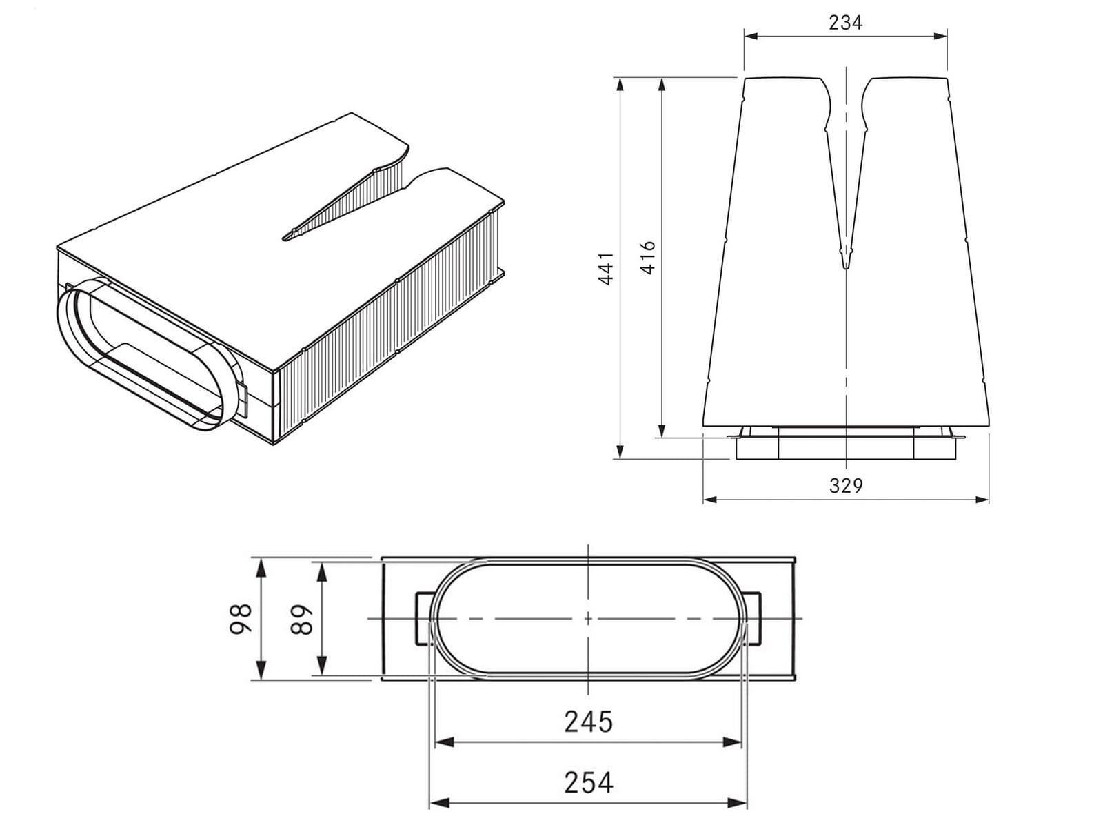 Bora ULBF Luftreinigungsbox flexibel