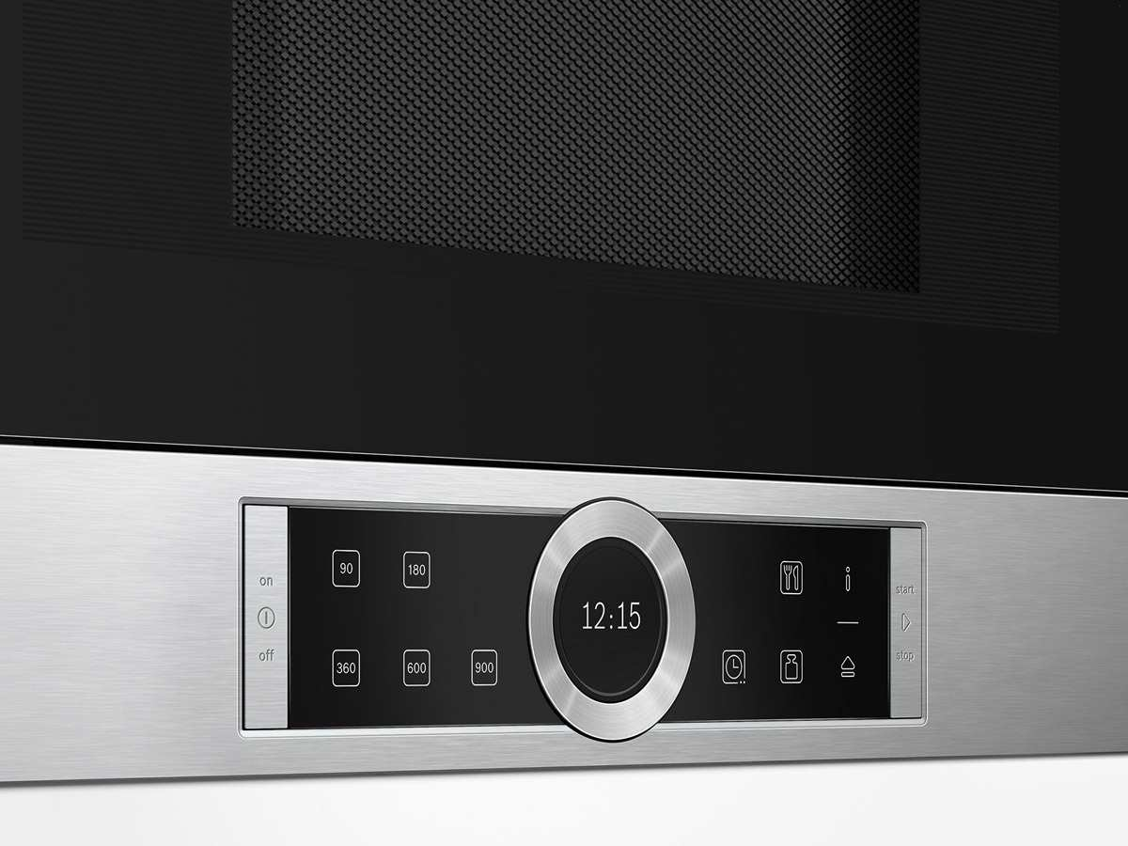 bosch bfl634gs1 einbau mikrowelle edelstahl. Black Bedroom Furniture Sets. Home Design Ideas