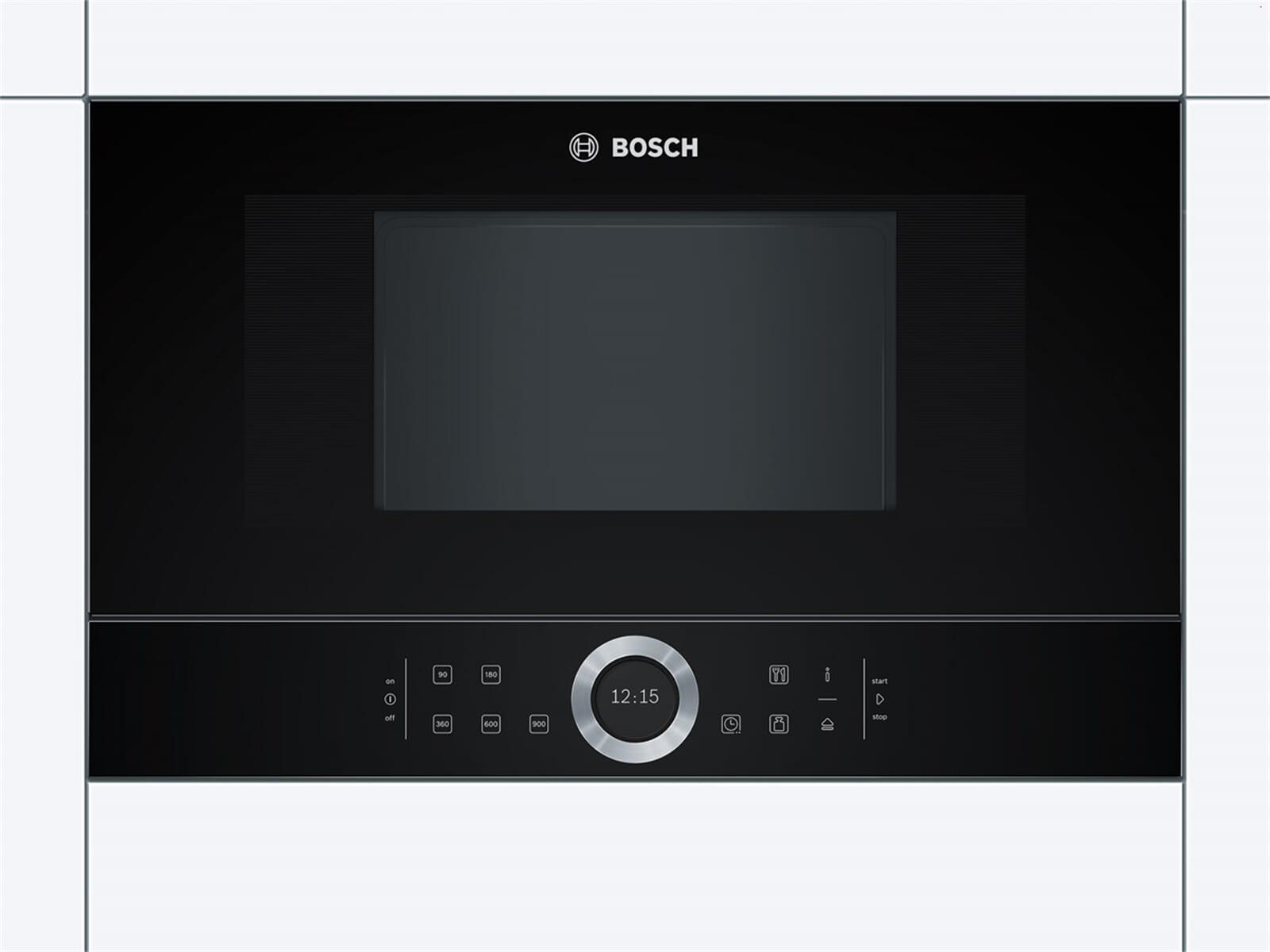 Bosch BFR634GB1 Einbau-Mikrowelle Vulkan schwarz