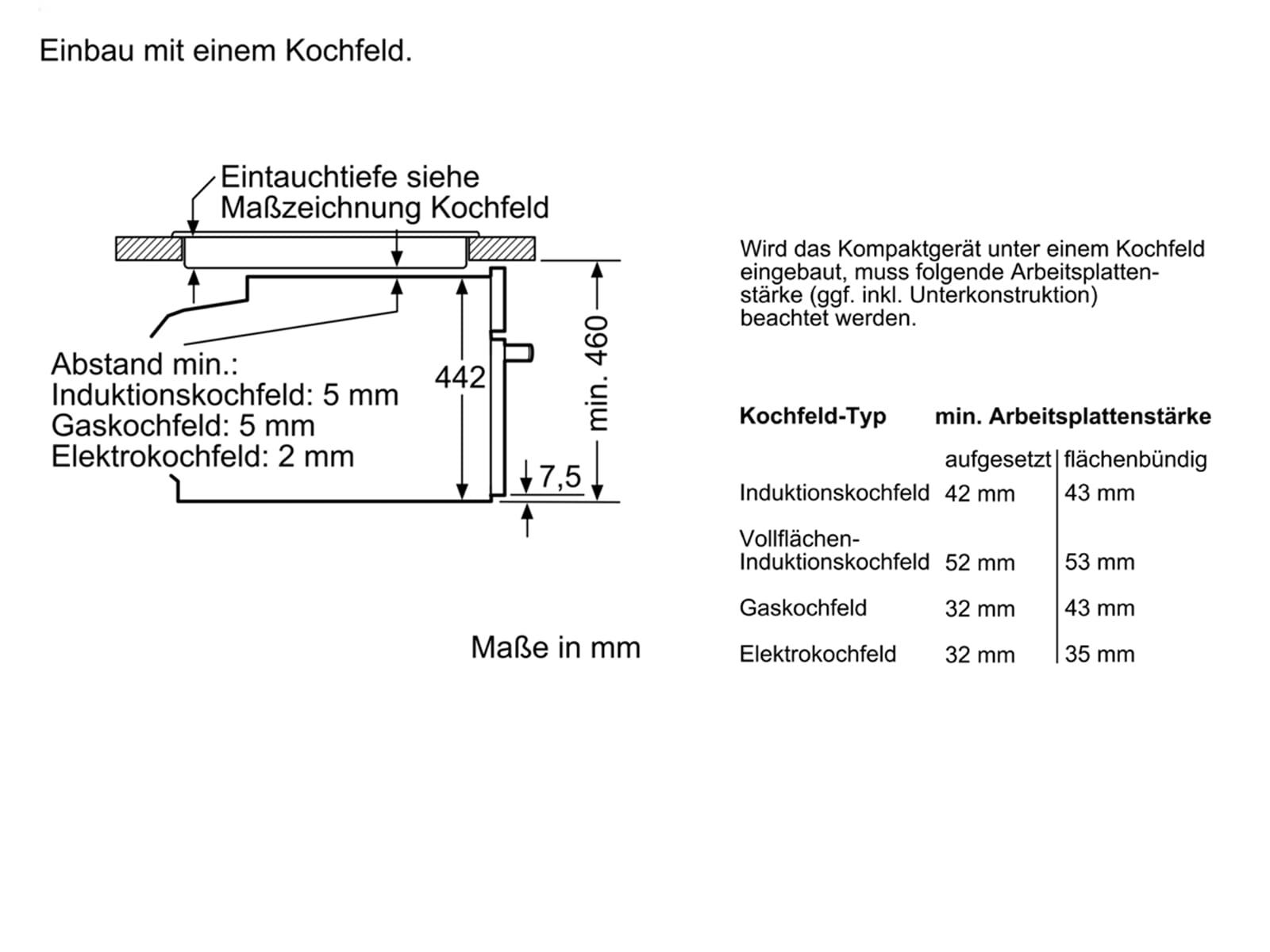 Bosch CDG634AB0 Kompakt-Dampfgarer Vulkan Schwarz