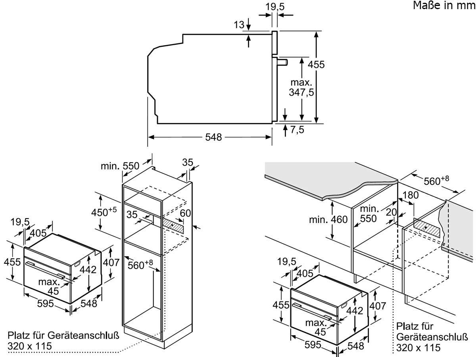 Bosch CDG634BS1 Kompakt Dampfgarer Edelstahl