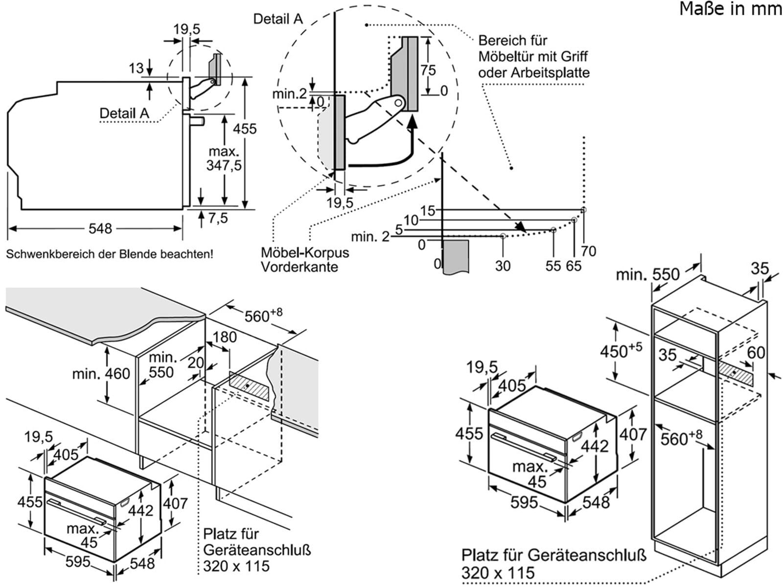 Bosch CSG636BS2 Kompakt Dampfgar-Backofen Edelstahl