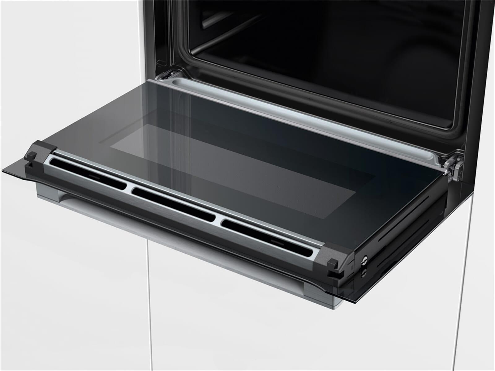 Bosch CSG656RB6 Kompakt Dampfgar-Backofen Vulkan schwarz