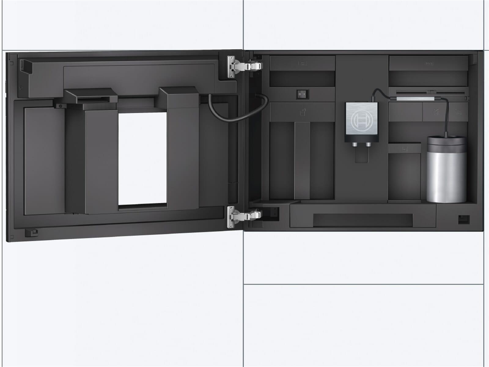 bosch ctl636eb6 einbau espresso kaffeevollautomat schwarz. Black Bedroom Furniture Sets. Home Design Ideas
