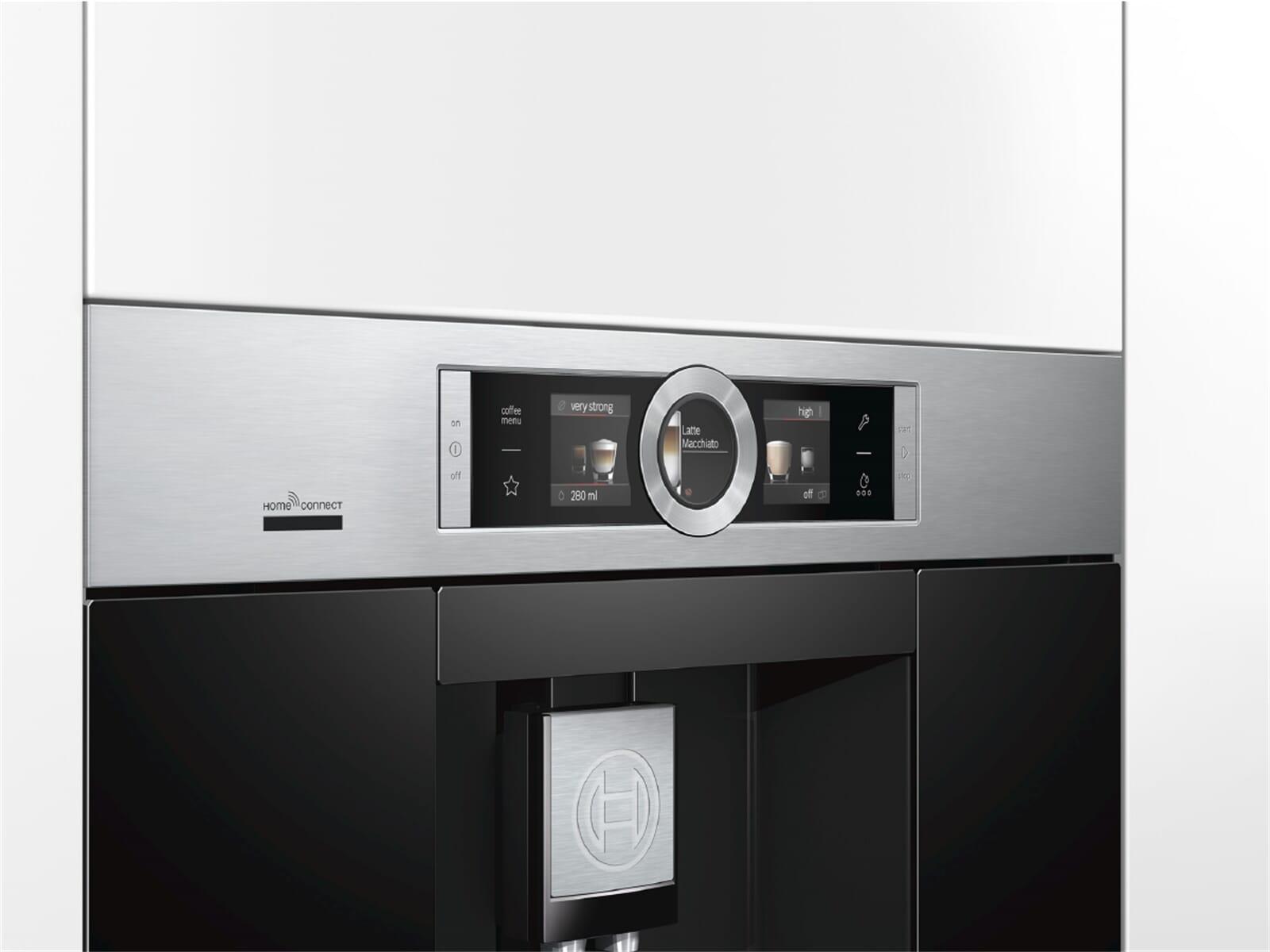 Bosch Kühlschrank Kondenswasserbehälter Reinigen : Bosch ctl es einbau espresso kaffeevollautomat edelstahl