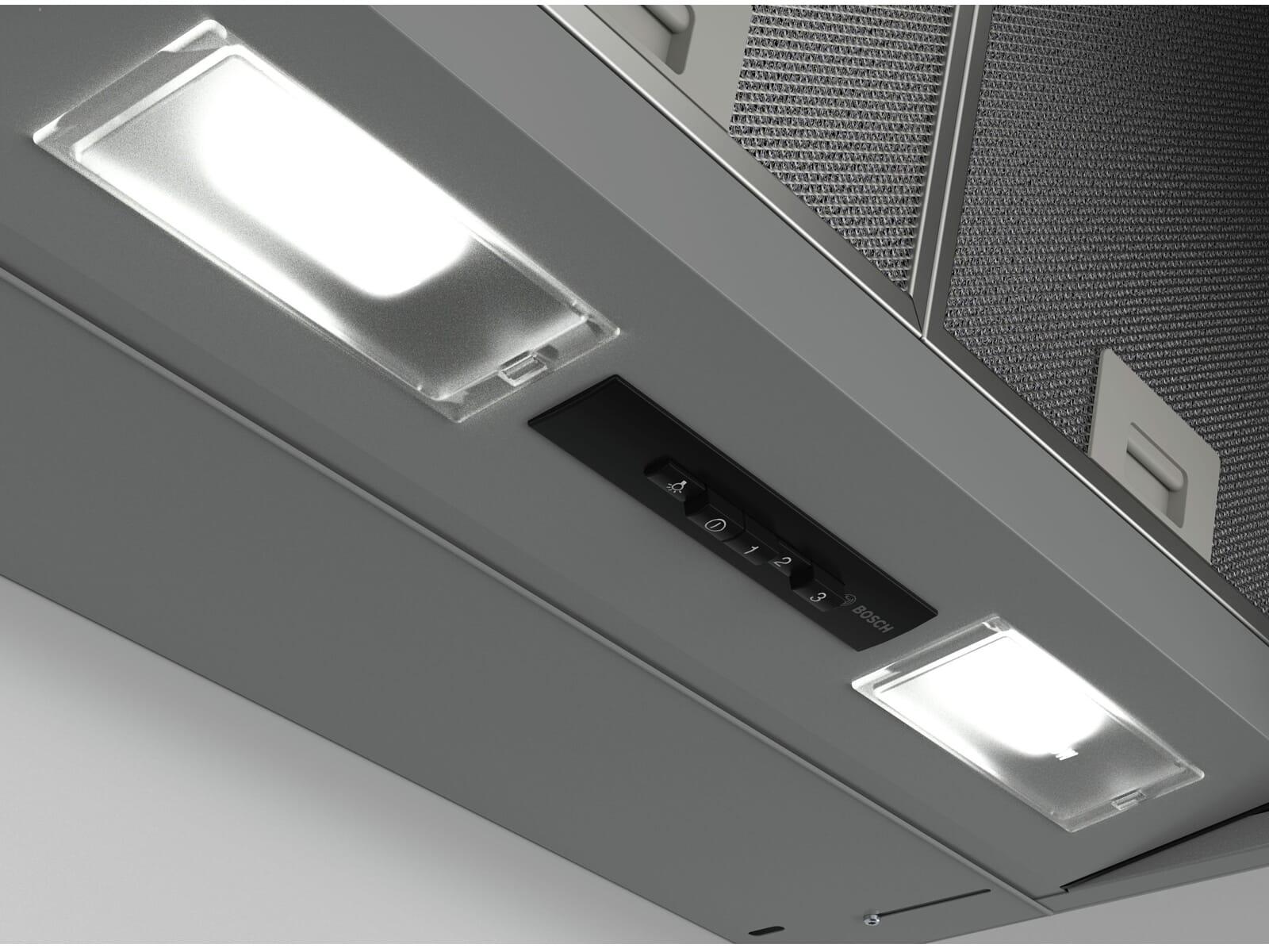 Bosch DEM63AC00 Zwischenbauhaube Silber