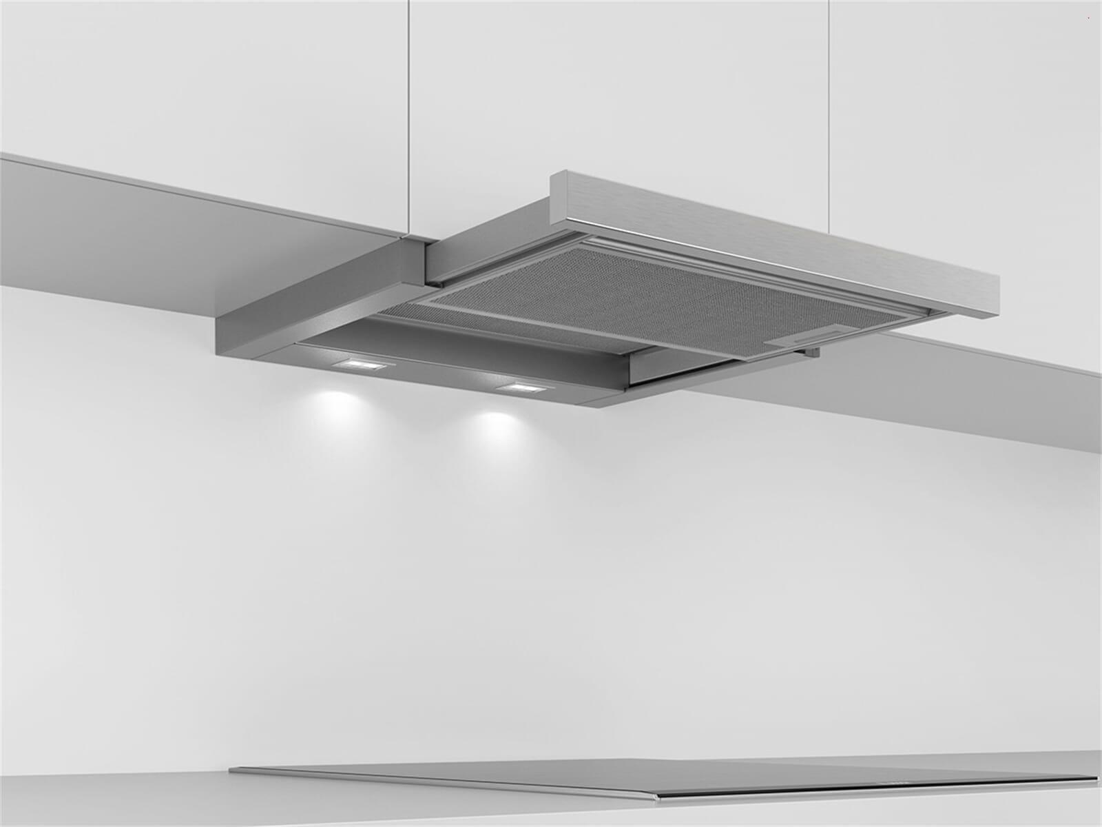 Bosch dfl a flachschirmhaube grau metallic