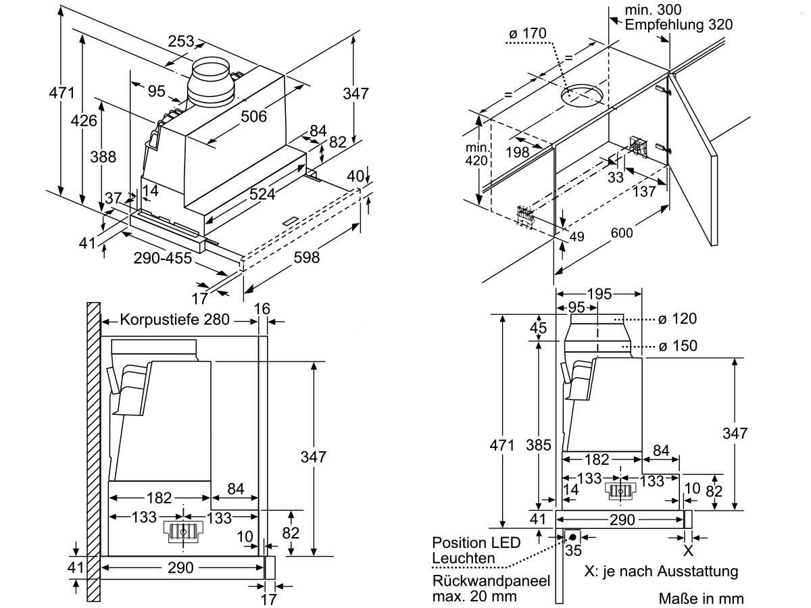 bosch dfr067a50 flachschirmhaube grau metallic. Black Bedroom Furniture Sets. Home Design Ideas