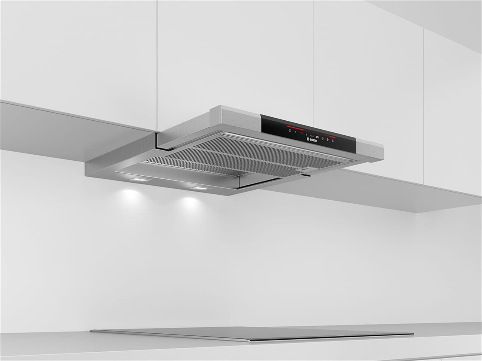 bosch dfs067j50 flachschirmhaube edelstahl. Black Bedroom Furniture Sets. Home Design Ideas