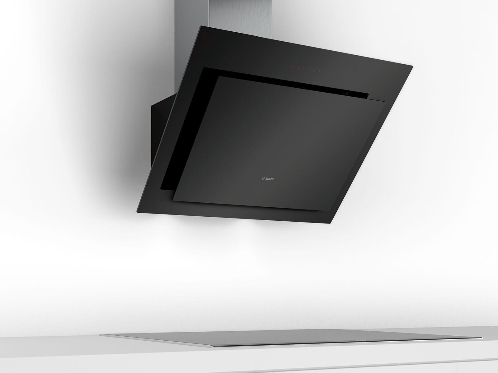 Bosch DWK87CM60 Kopffreihaube Klarglas schwarz bedruckt