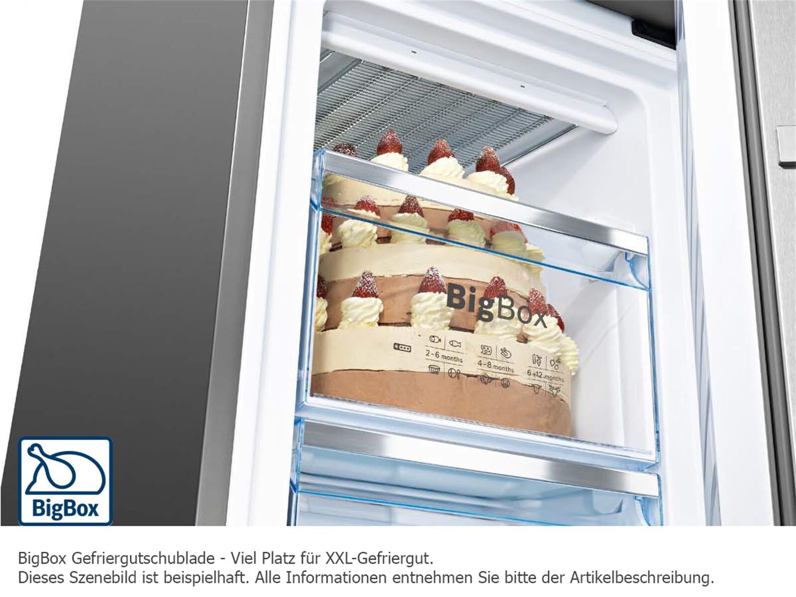 Bosch KGE39VW4A Kühl-Gefrier-Kombination Weiß