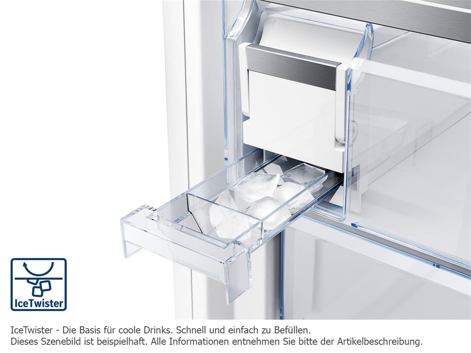 bosch kmf40sb20 french door k hl gefrier kombination schwarz hinter glas. Black Bedroom Furniture Sets. Home Design Ideas