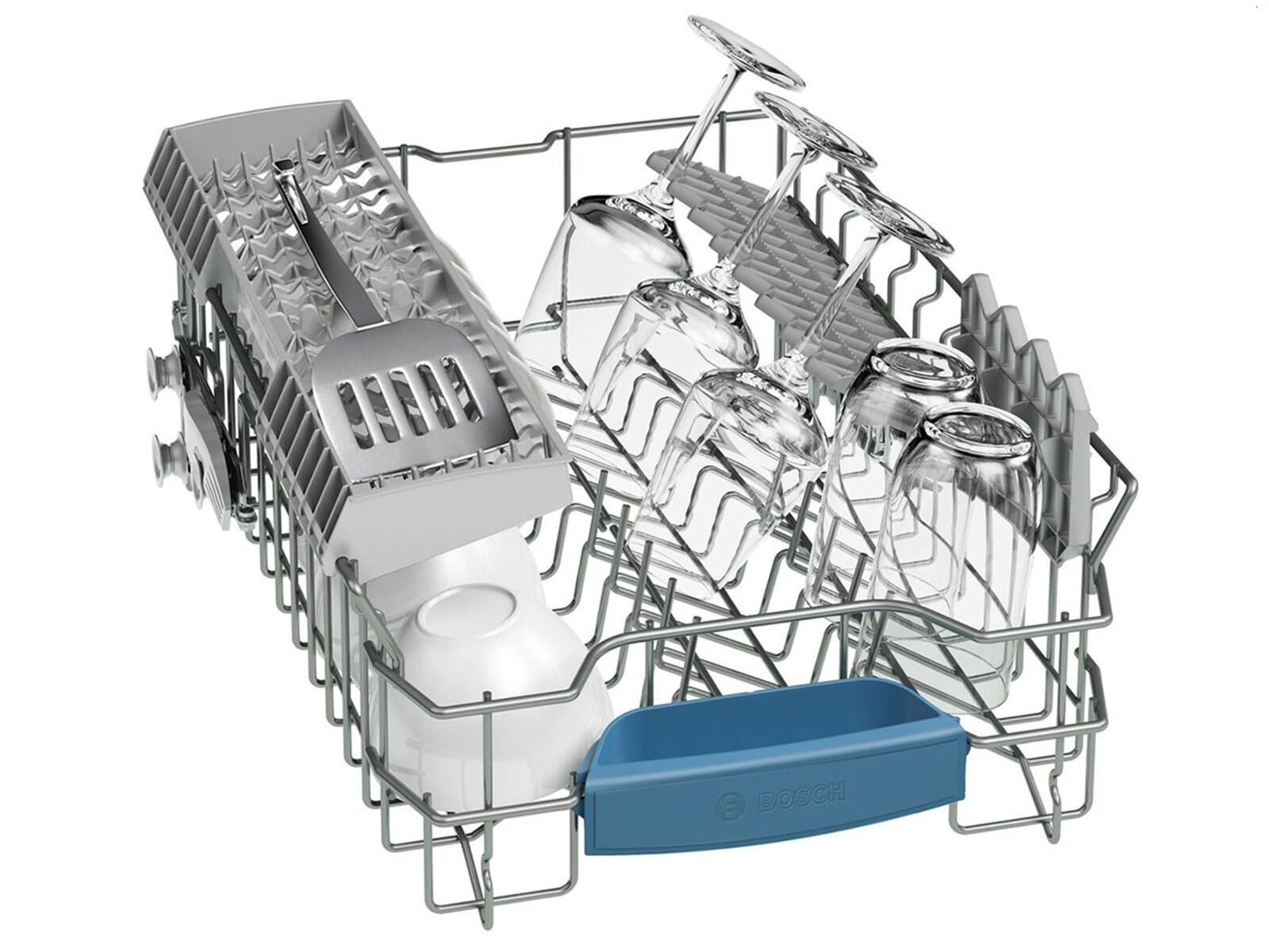 Bosch SPI46MW01E Teilintegrierbarer Einbaugeschirrspüler
