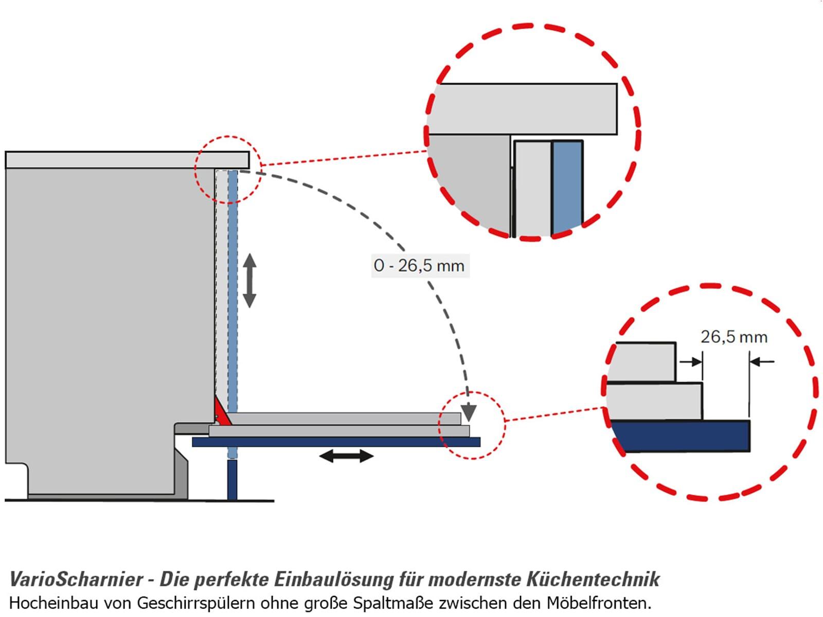 bosch sme46mx03e vollintegrierbarer einbaugeschirrsp ler. Black Bedroom Furniture Sets. Home Design Ideas