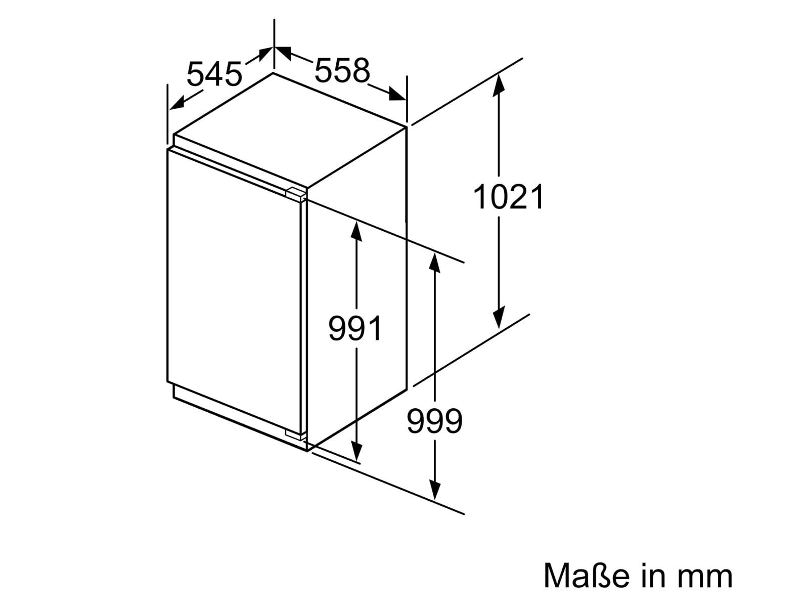 Bosch GIN31ACE0 Einbaugefrierschrank