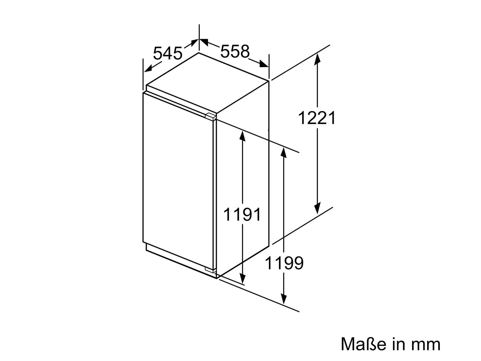 Bosch GIN41ACE0 Einbaugefrierschrank