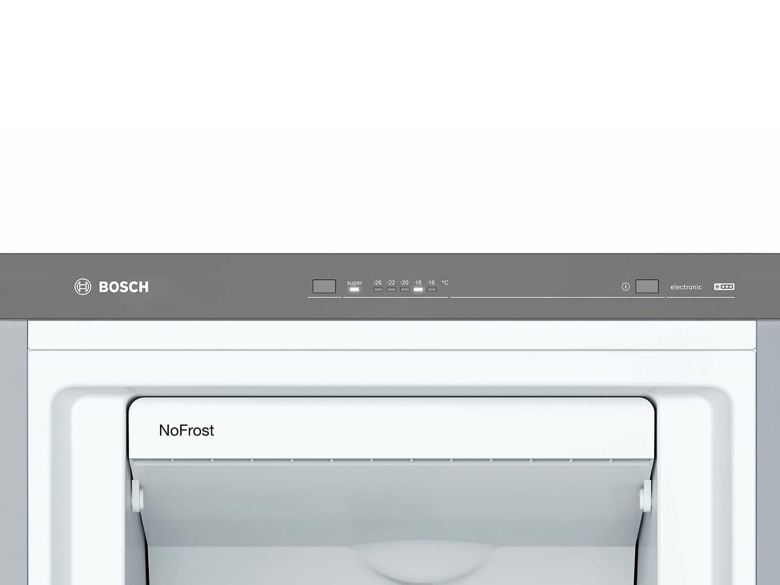 Bosch GSN36VL3P Standgefrierschrank Edelstahl-Optik