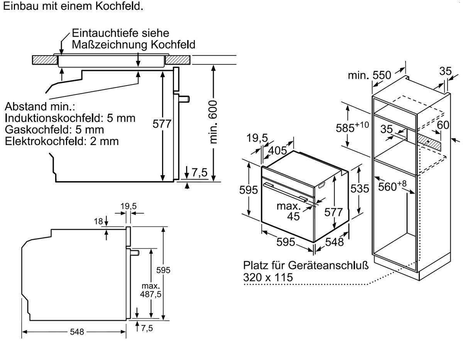 Bosch HBG675BS1 Pyrolyse Backofen Edelstahl
