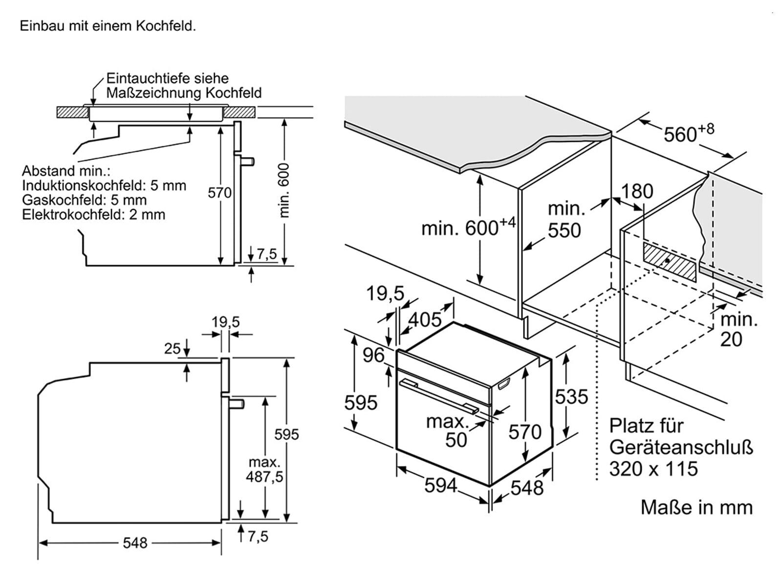 bosch hnd671cs60 set pyrolyse einbauherd hea578bs0 glaskeramikkochfeld nkn645g ebay. Black Bedroom Furniture Sets. Home Design Ideas