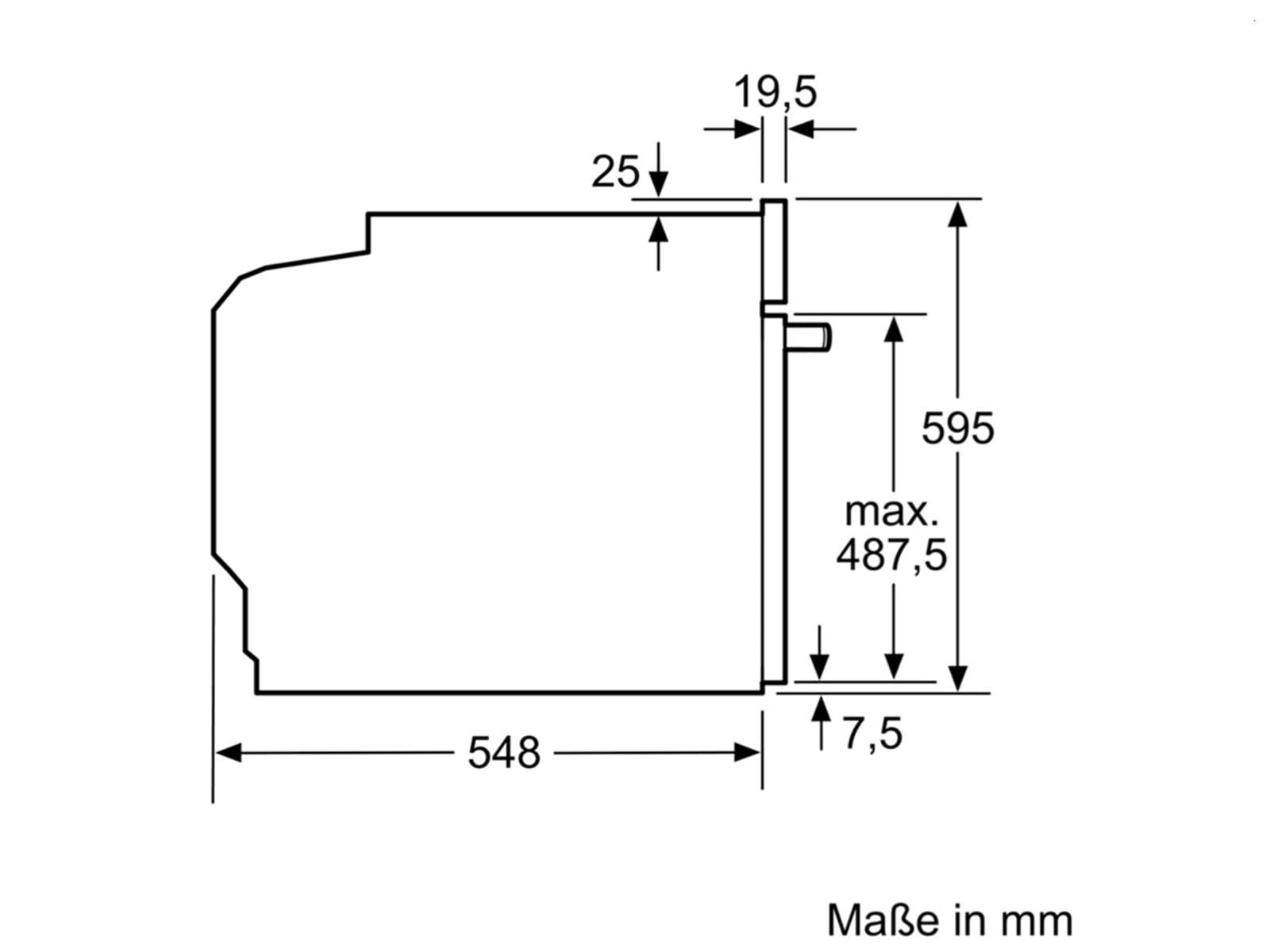 Bosch HEB517BS0 Einbauherd Edelstahl