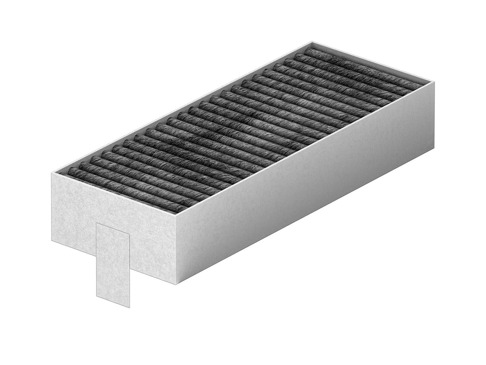 Bosch HEZ9VRCR0 cleanAir Umluft-Ersatzfilter - 4 Stück