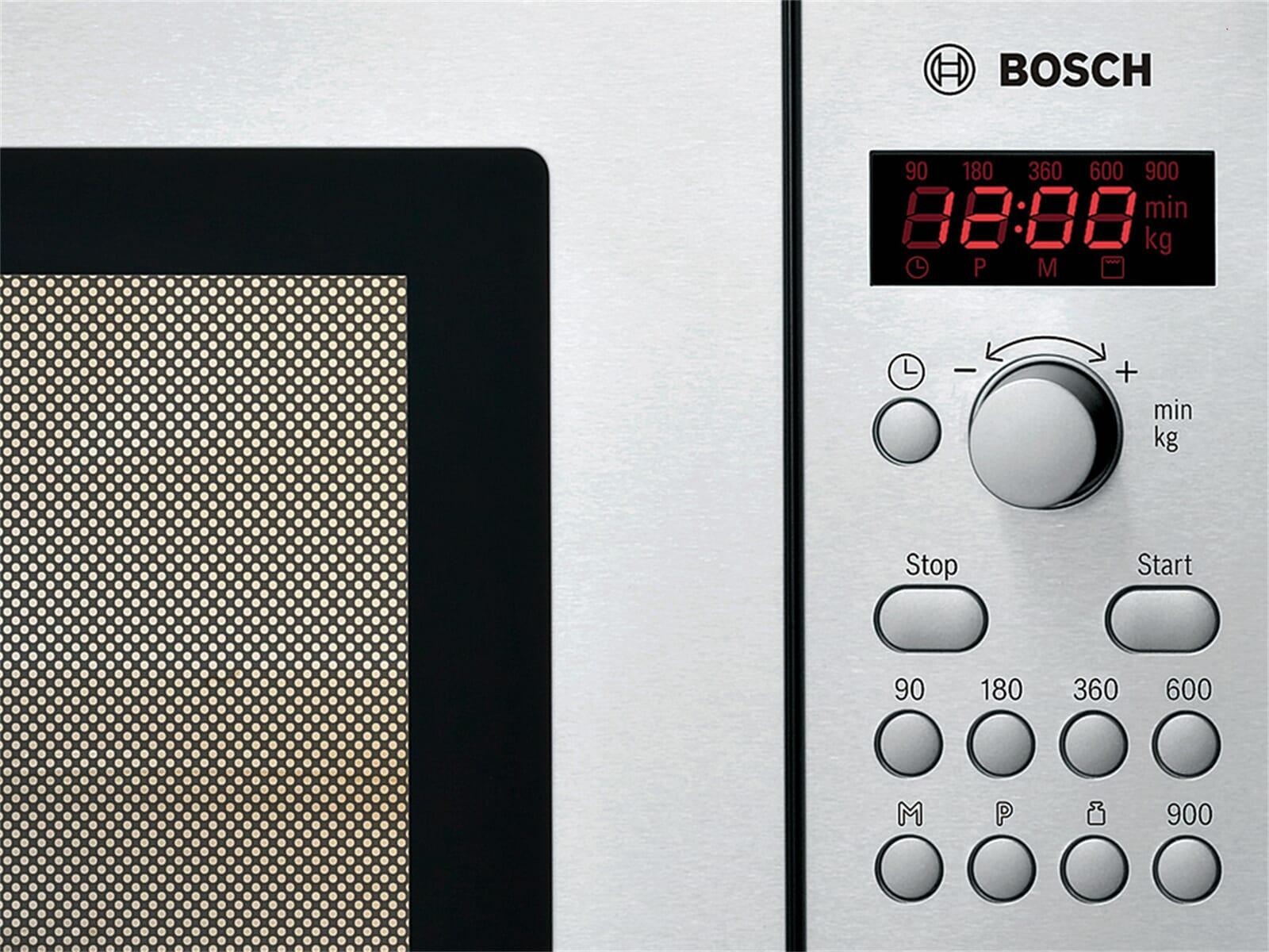Bosch HMT84M451 Stand-Mikrowelle Edelstahl