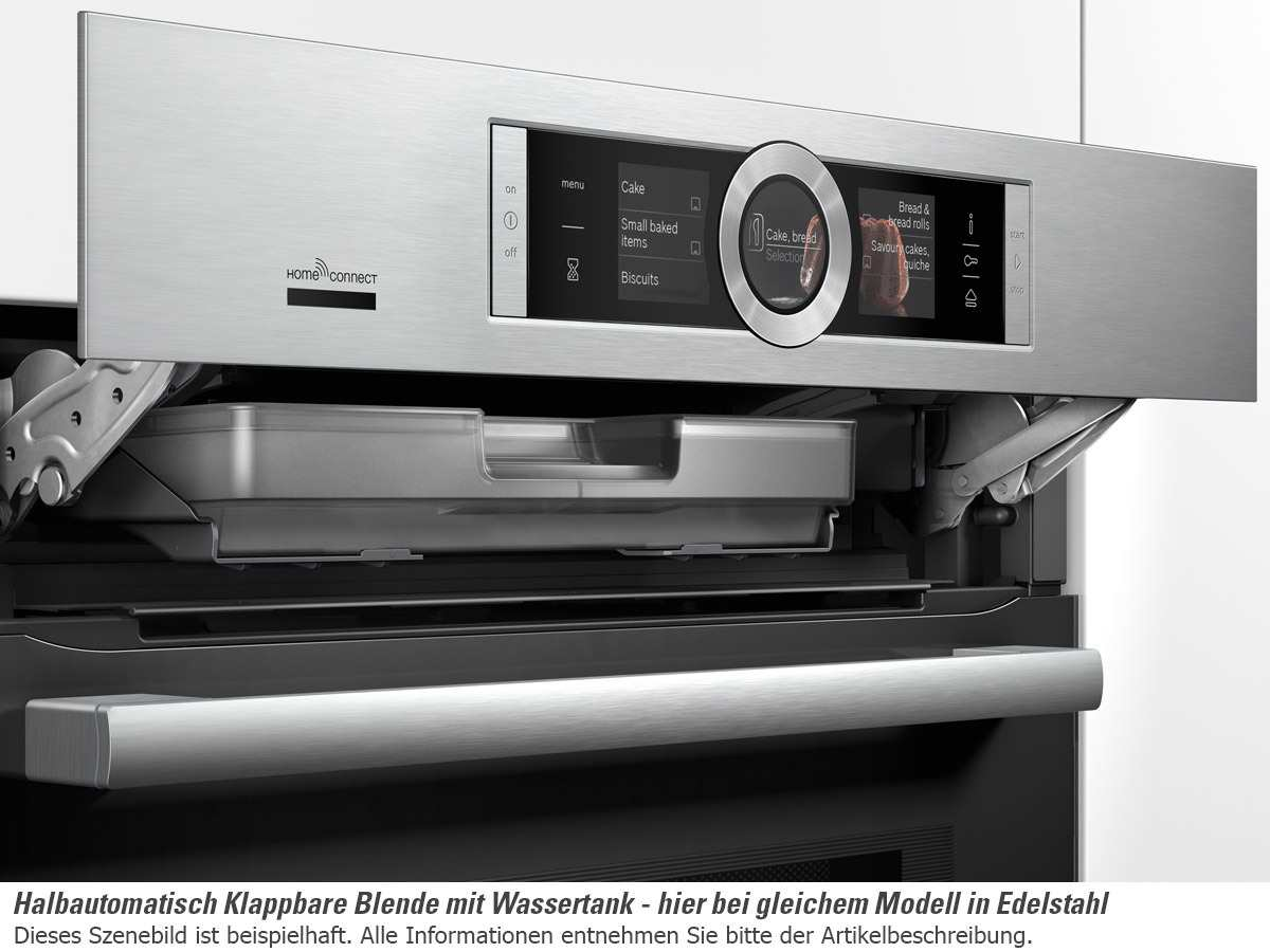 Bosch Hng6764w6 Pyrolyse Backofen Mit Mikrowelle Polar Weiss