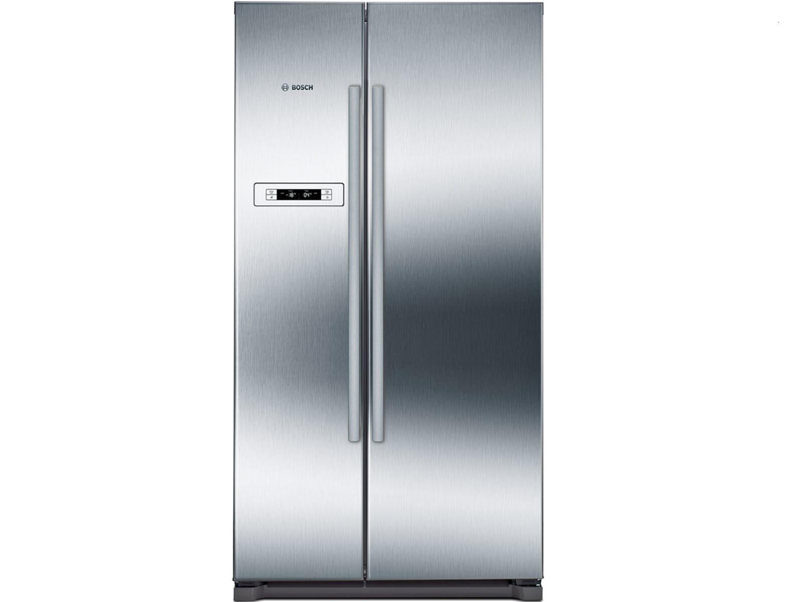 Bosch Kühlschrank Urlaubsschaltung : Bosch kan vi side by side kühl gefrier kombination edelstahl
