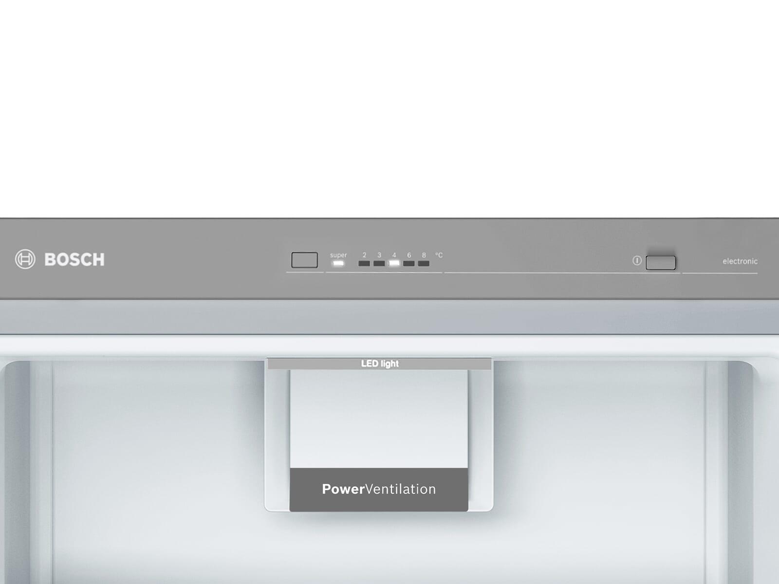 Bosch KAN95VLFP Side by Side Kühl-Gefrier-Kombination Edelstahl-Optik