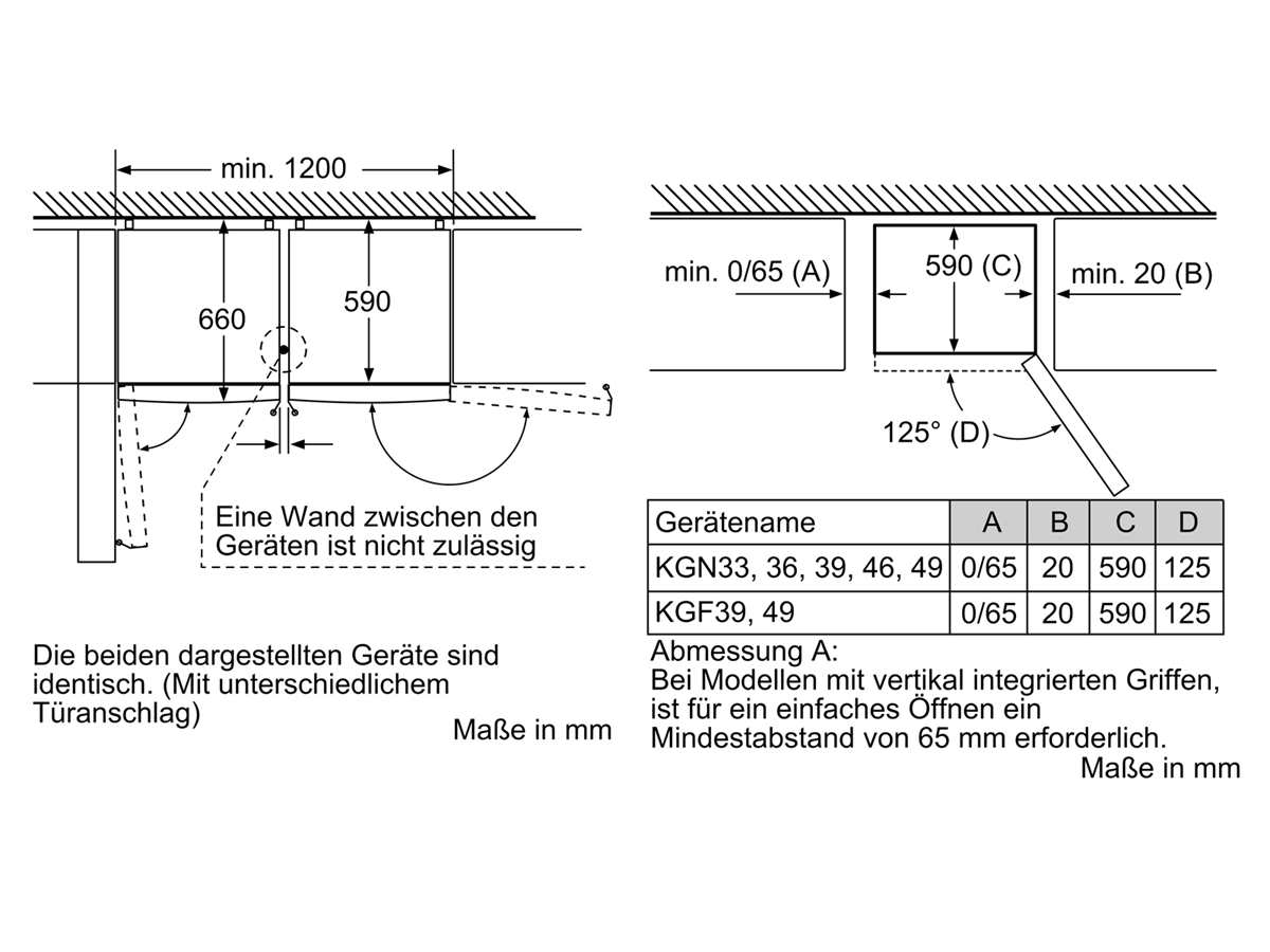 Bosch KGF39PIDP Kühl-Gefrierkombination Edelstahl