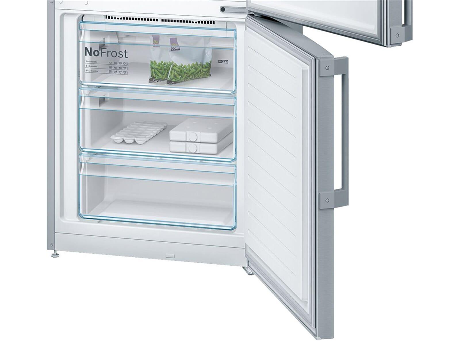 Bosch Kühlschrank Cooler Bedienungsanleitung : Bosch kgf pi kühl gefrierkombination edelstahl