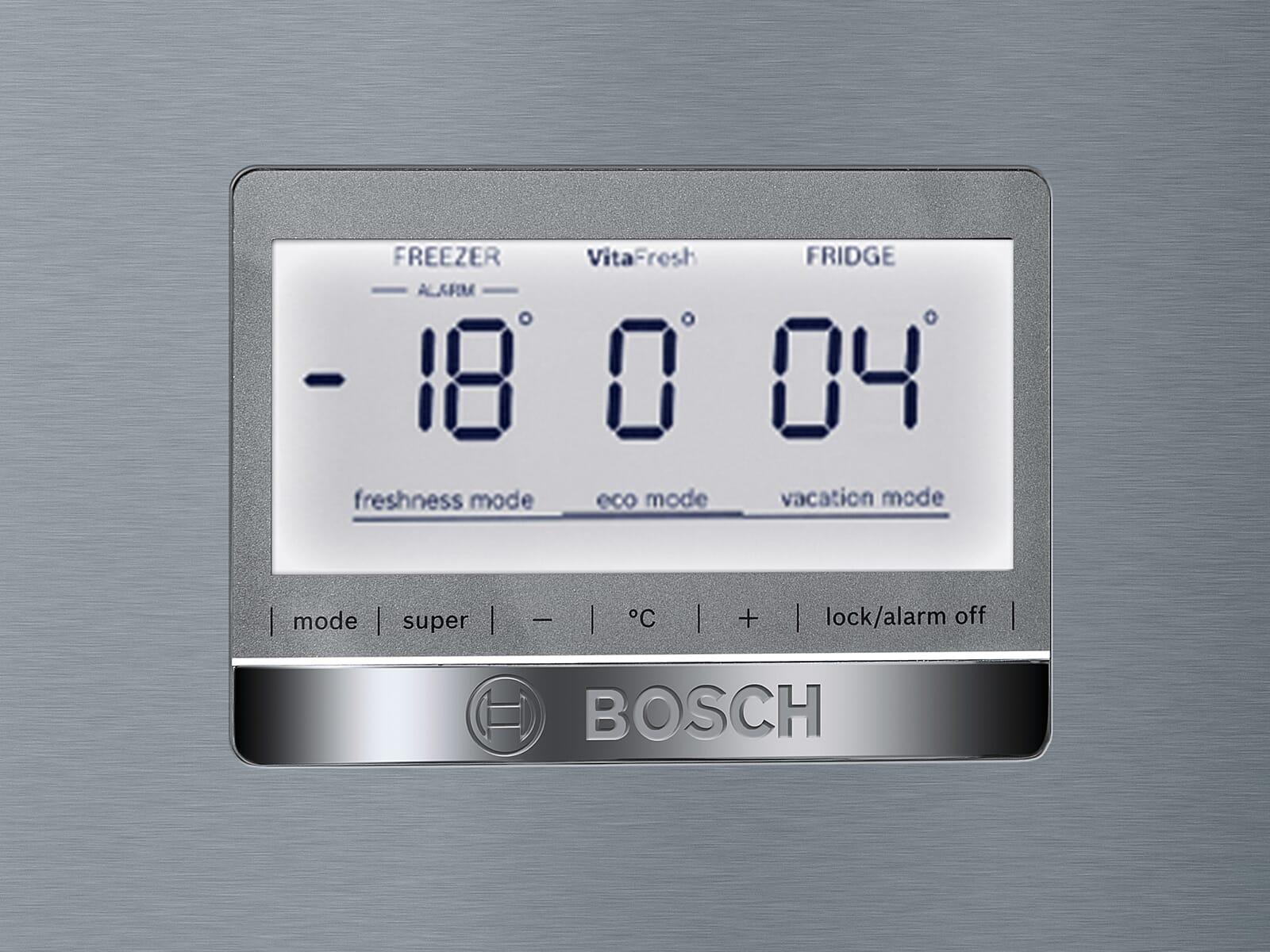 Bosch KGF56PIDP Kühl-Gefrierkombination Edelstahl