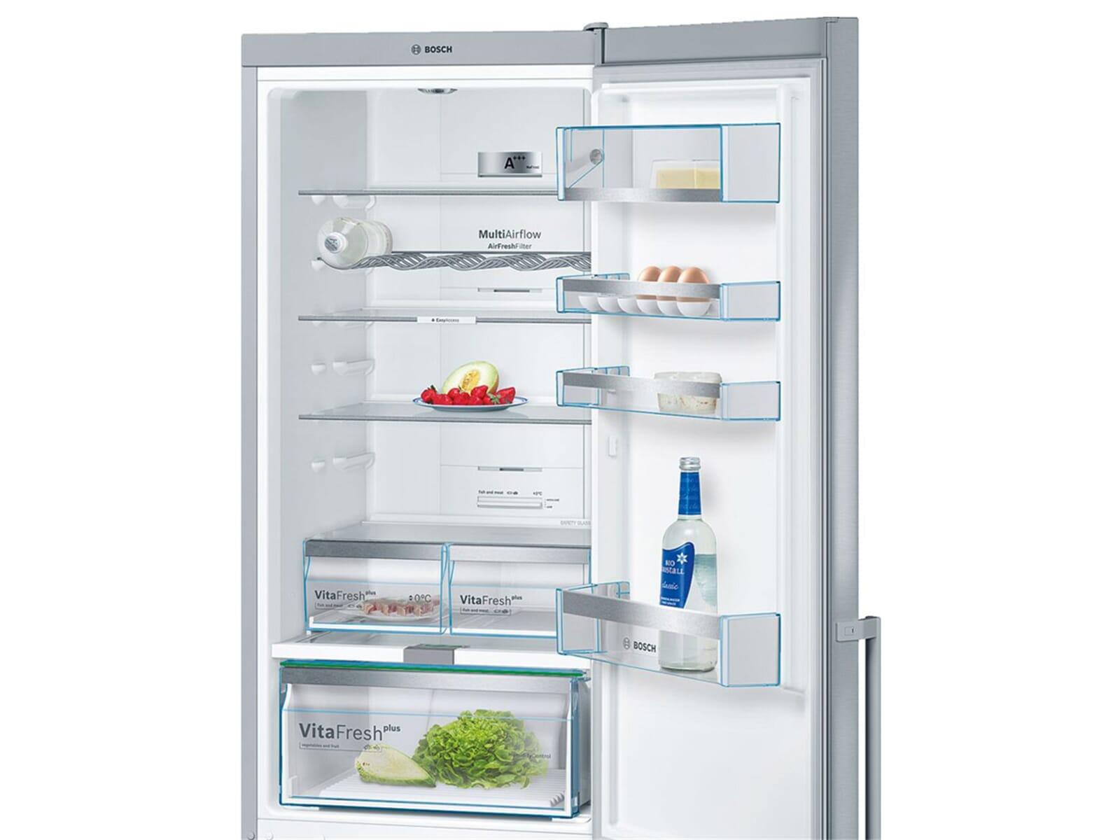 Bosch Kühlschrank Kgn 33 48 : Bosch kgn ai kühl gefrierkombination edelstahl