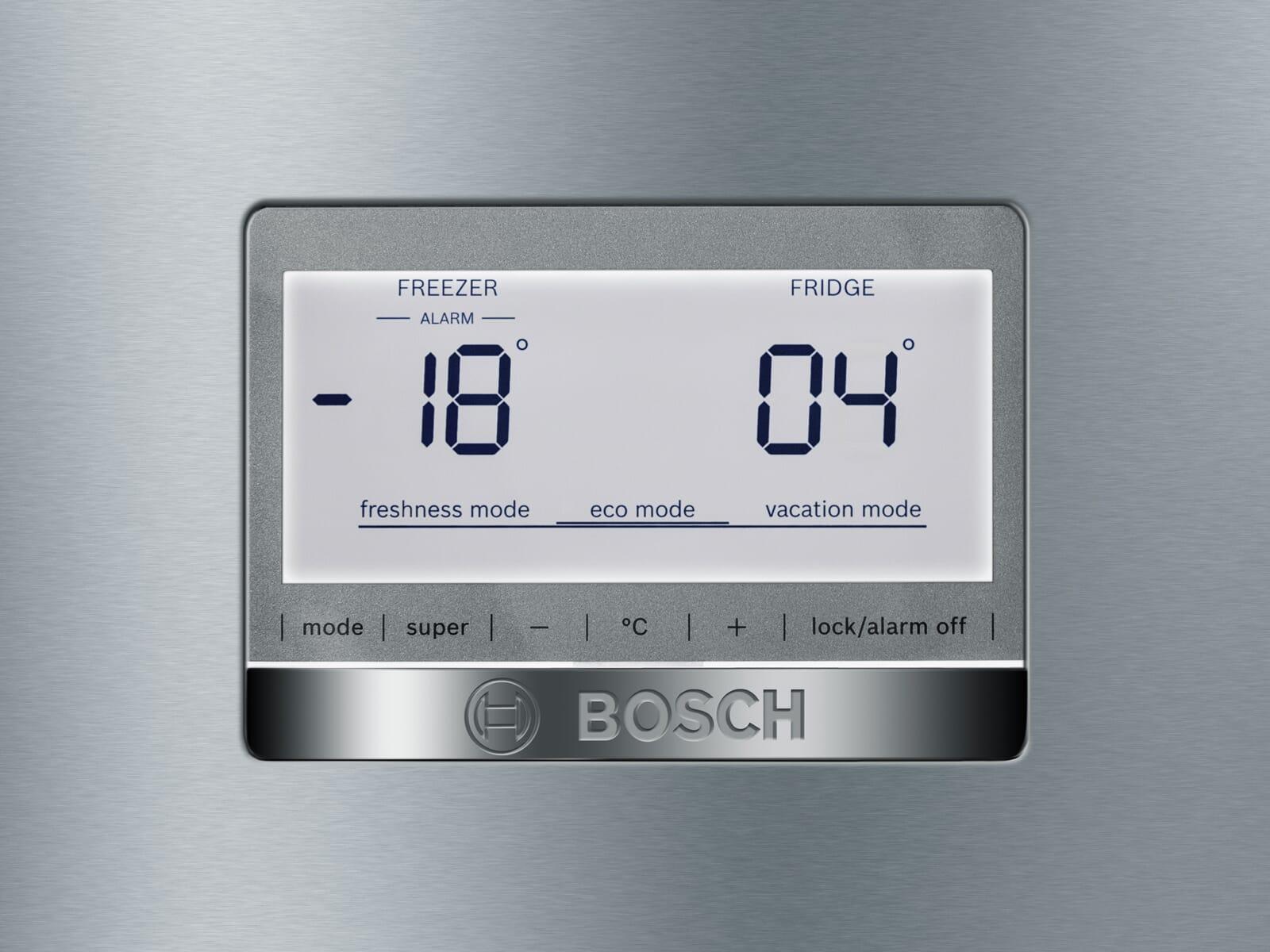 Bosch KGN49AIDP Kühl-Gefrierkombination Edelstahl