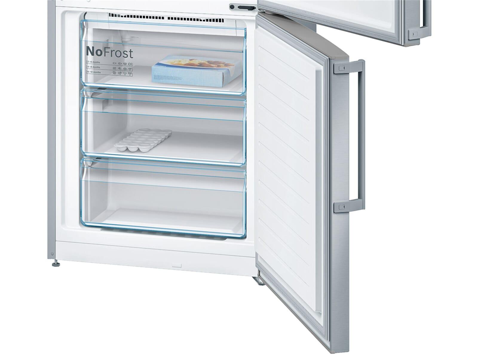 Bosch Kühlschrank Mit Eiswürfelbereiter : Bosch kgn xi kühl gefrierkombination edelstahl