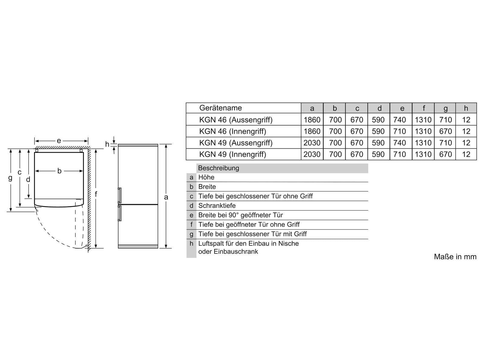 Bosch KGN49XIDP Kühl-Gefrierkombination Edelstahl