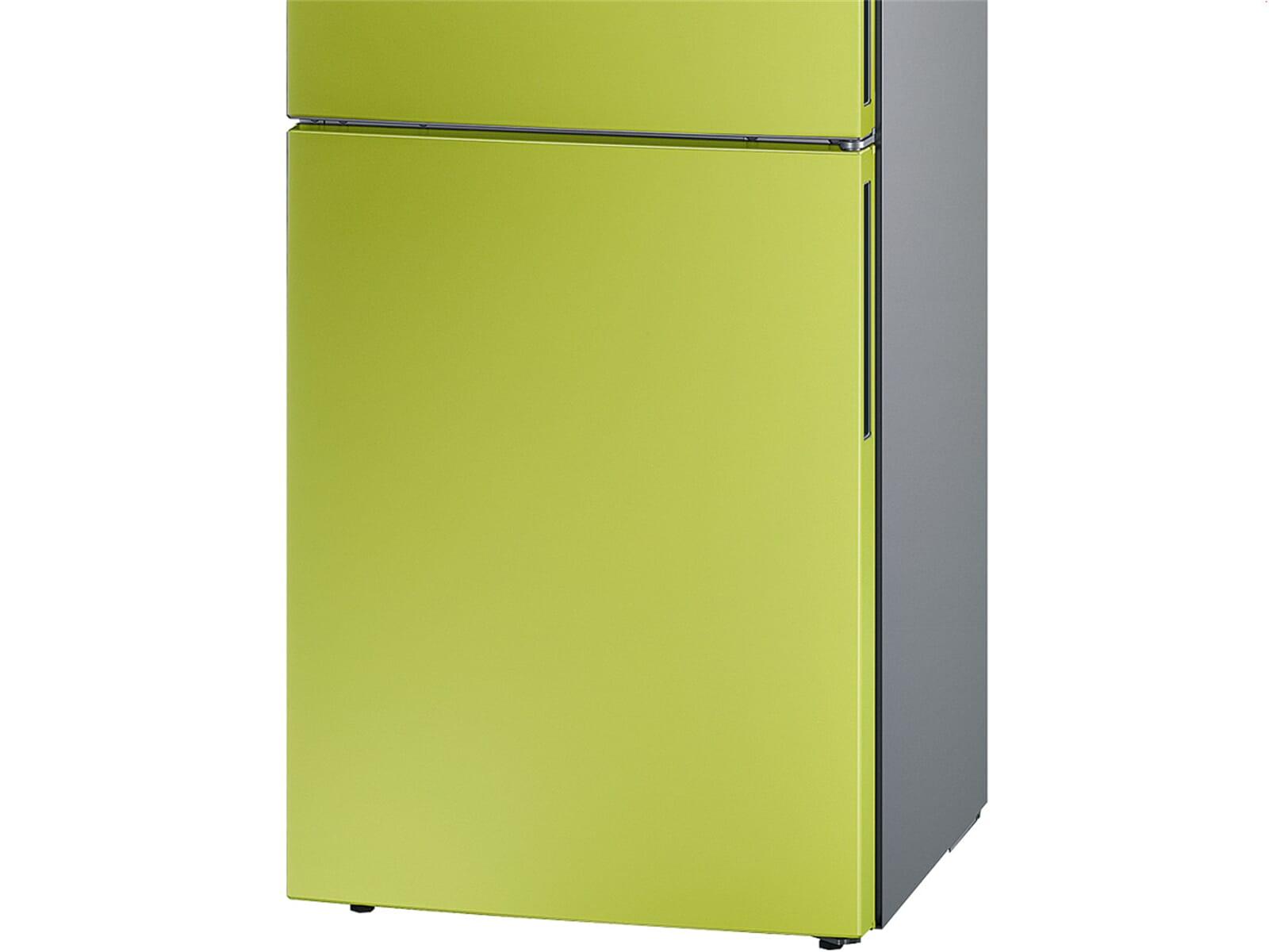 Bosch Kühlschrank Biofresh : Bosch kgv vh s kühl gefrierkombination lime green