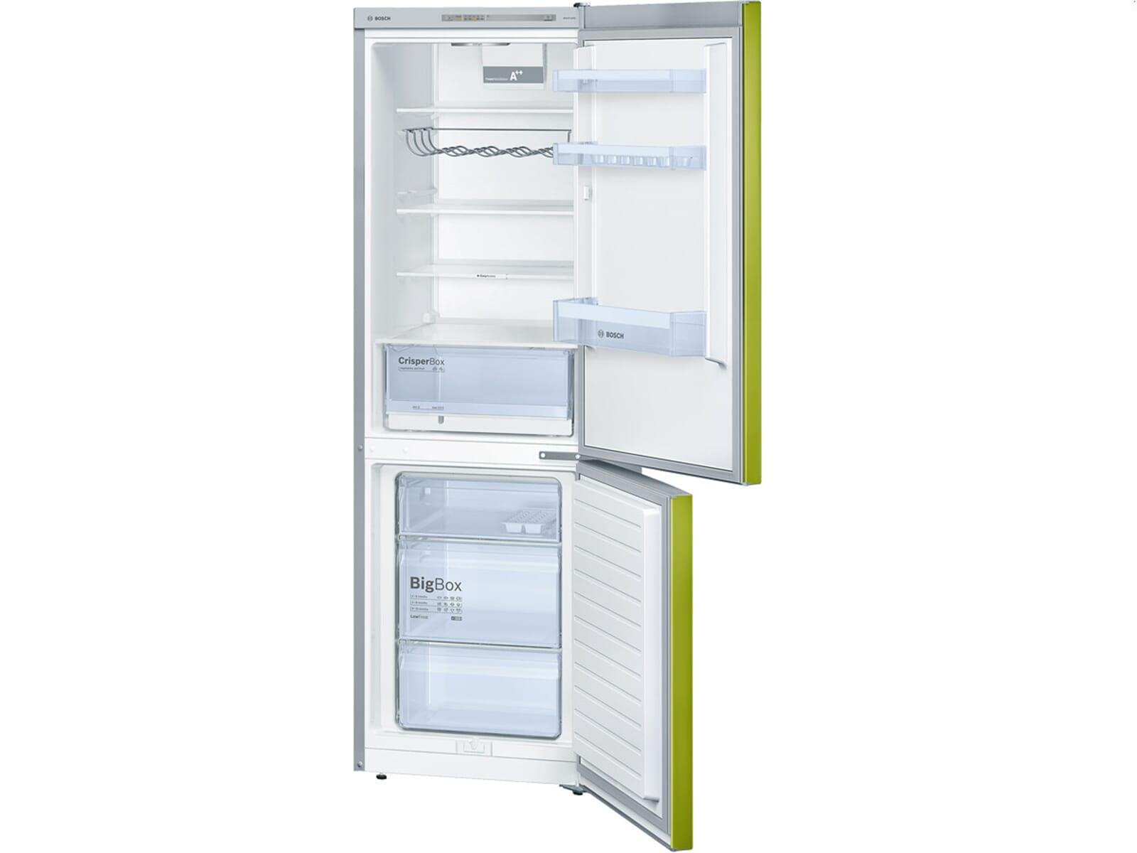 Bosch Kühlschrank Kgn 39 Xi 41 : Bosch kgv vh s kühl gefrierkombination lime green ebay