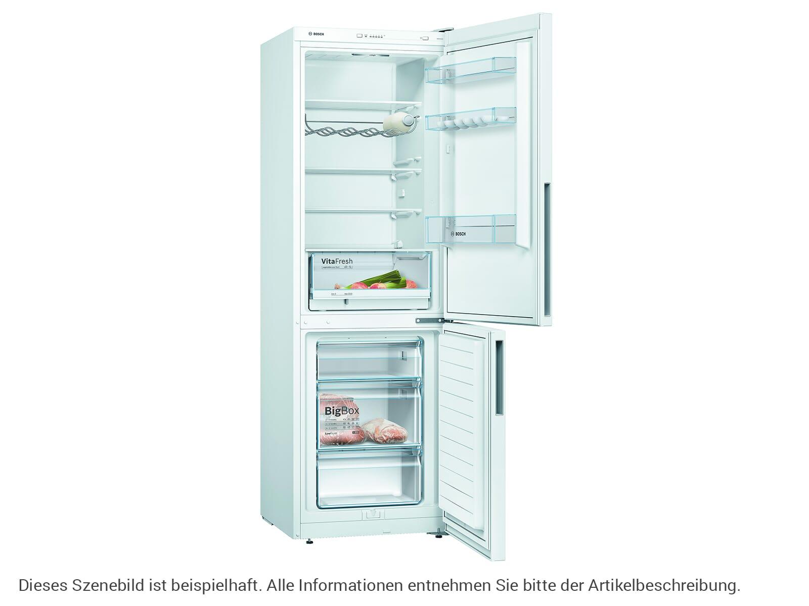 Bosch KGV36VWEA Kühl-Gefrierkombination Weiß