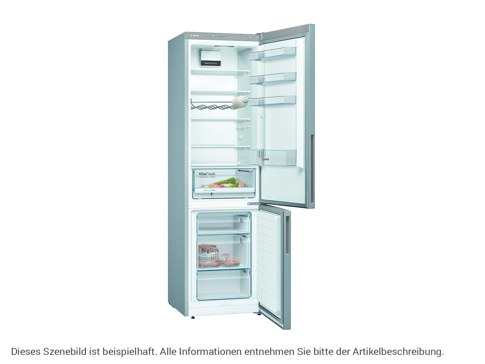 Bosch KGV392LEA Stand Kühl-Gefrier-Kombination Edelstahl-Optik