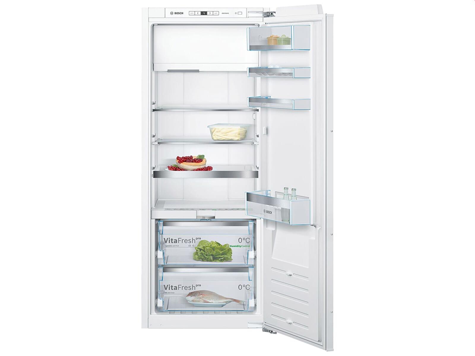 Bosch Kühlschrank Einbau Mit Festtürmontage : Bosch kif af einbaukühlschrank