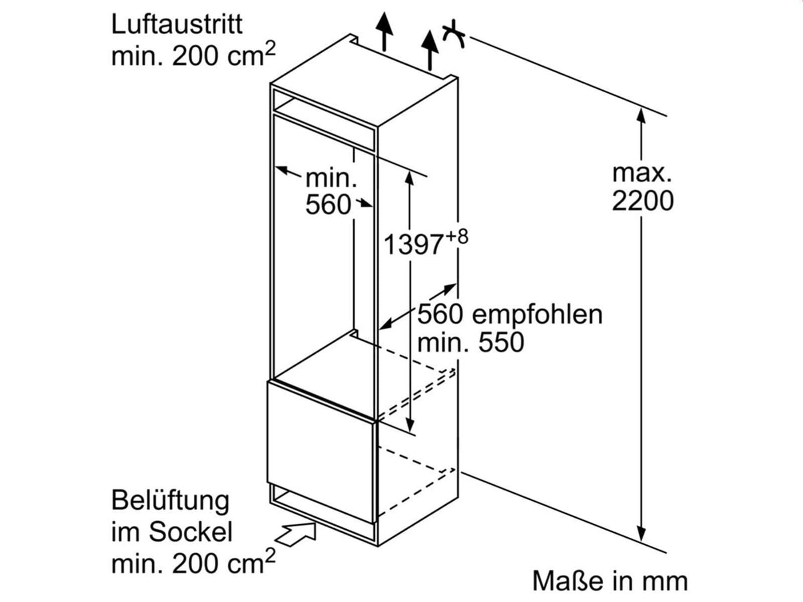 Bosch KIF52AF30 Einbaukühlschrank