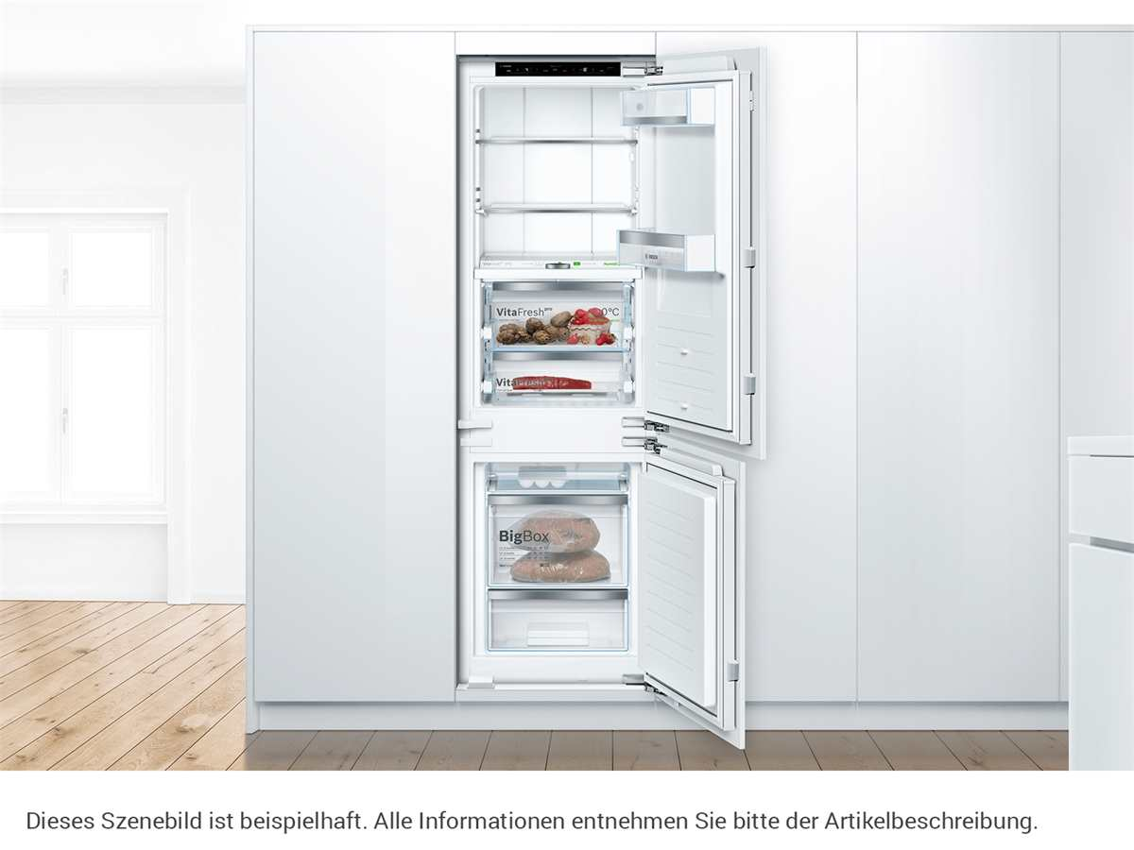 Bosch KIF86PFE0 Einbau-Kühl-Gefrierkombination