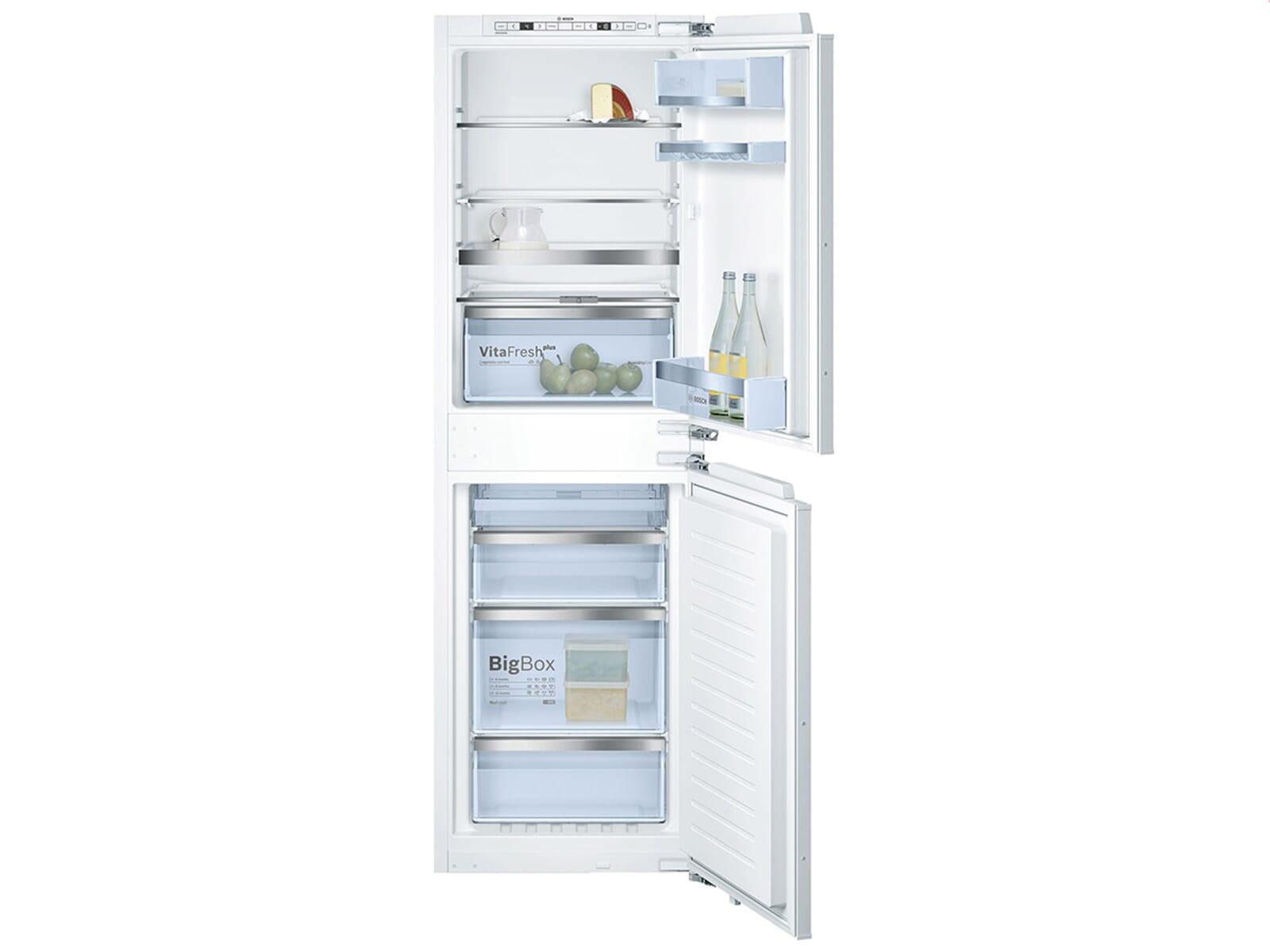 Bosch Kühlschrank Einbau Mit Festtürmontage : Bosch kin af einbau kühl gefrierkombination