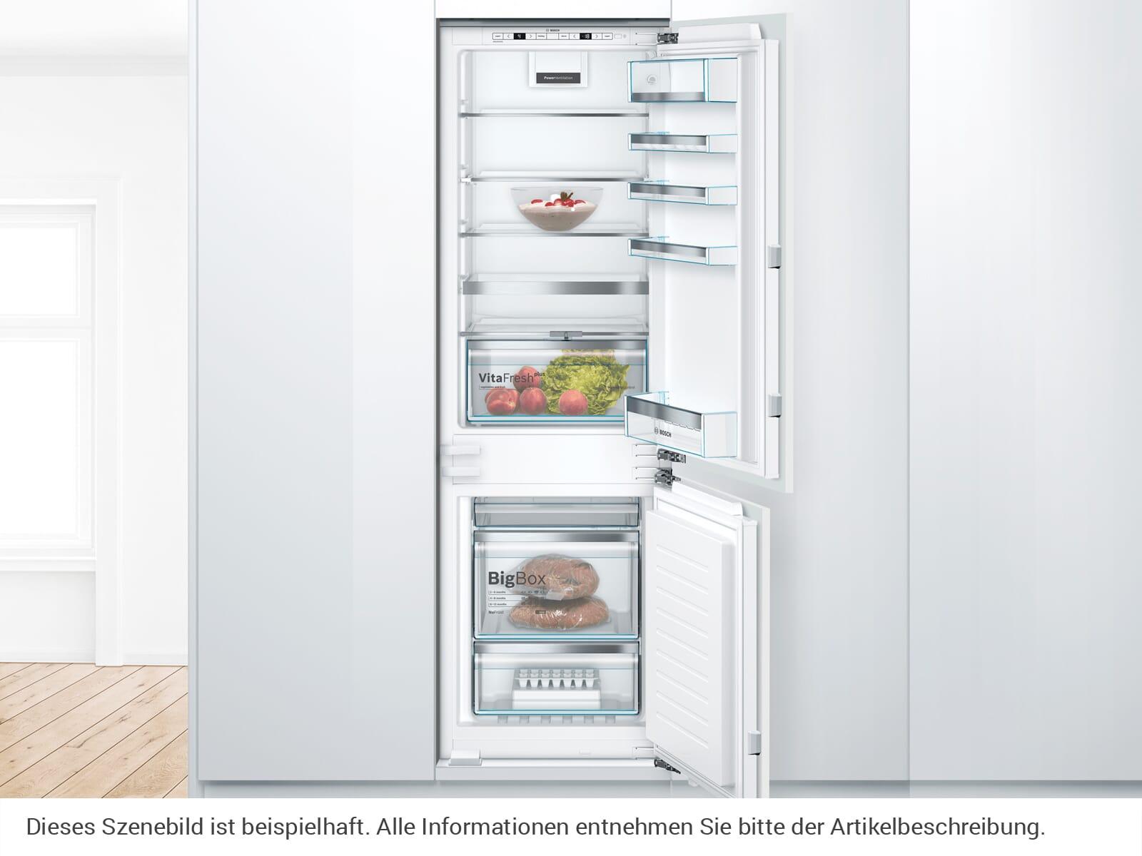 Bosch KIN86AFF0 Einbau-Kühl-Gefrierkombination